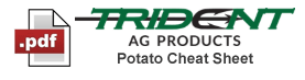 Free Download - Trident Agriculture Crop Cheat Sheet